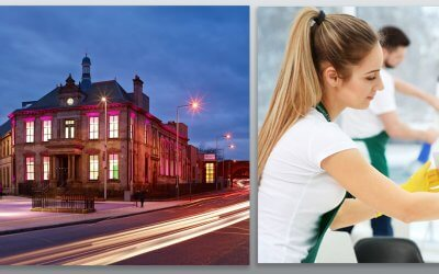 Assured 24 won a tender to supply cleaning and window cleaning services for Maryhill Burgh Halls!